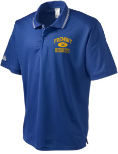 Fremont Elementary School Huskies adidas Men's ClimaLite Athletic Polo