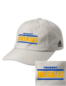 Fremont Elementary School Huskies Embroidered adidas Relaxed Cresting Cap
