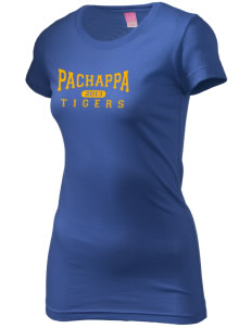 Pachappa Elementary School Tigers  Juniors' Fine Jersey Longer Length T-Shirt