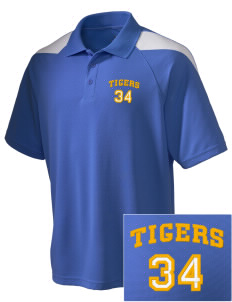Pachappa Elementary School Tigers Embroidered Holloway Men's Frequency Performance Pique Polo