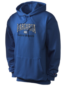 Margarita Middle School Mustangs Champion Men's Hooded Sweatshirt