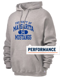 Margarita Middle School Mustangs Russell Men's Dri-Power Hooded Sweatshirt