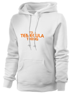 Temecula Elementary School Temecula Tigers Russell Women's Pro Cotton Fleece Hooded Sweatshirt