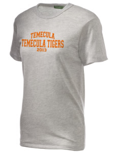 Temecula Elementary School Temecula Tigers Embroidered Alternative Unisex Eco Heather T-Shirt