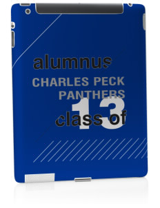 Charles Peck Elementary School Panthers Apple iPad 2 Skin