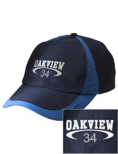 Oakview Community School Cougars Embroidered Nike Golf Colorblock Cap