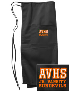 Apple Valley High School Sundevils Embroidered Full Bistro Bib Apron