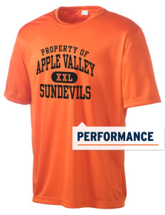 Apple Valley High School Sundevils Men's Competitor Performance T-Shirt