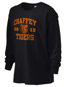 Chaffey High School Tigers Kid's 6.1 oz Long Sleeve Ultra Cotton T-Shirt
