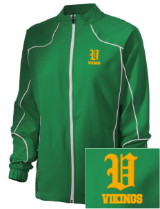Valley View High School Vikings Embroidered Russell Women's Full Zip Jacket
