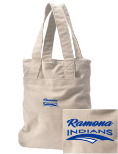 Ramona Junior High School Indians Embroidered Alternative The Berkeley Tote