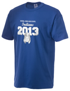 Ramona Junior High School Indians  Russell Men's NuBlend T-Shirt