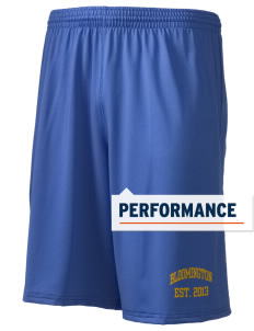 "Bloomington High School Bruins Holloway Men's Performance Shorts, 9"" Inseam"