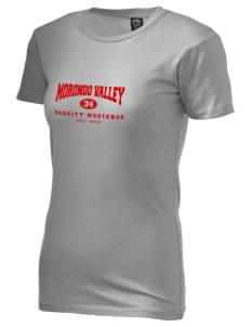 Morongo Valley Elementary School Mustangs Alternative Women's Basic Crew T-Shirt