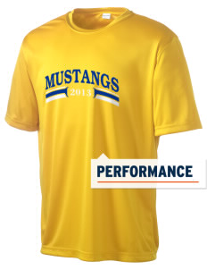 Milor Continuation Senior High School Mustangs Men's Competitor Performance T-Shirt