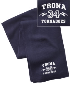 Trona High School Tornadoes  Embroidered Knitted Scarf