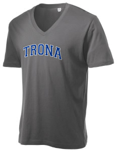 Trona High School Tornadoes Alternative Men's 3.7 oz Basic V-Neck T-Shirt