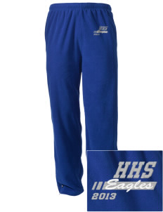 Hillside High School Eagles Embroidered Holloway Men's Flash Warmup Pants