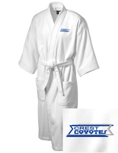 Crest Elementary School Coyotes Embroidered Terry Velour Robe