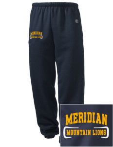 Meridian Elementary School Mountain Lions Embroidered Champion Men's Sweatpants