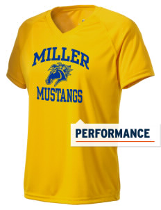 Miller Elementary School Mustangs Holloway Women's Zoom Performance T-Shirt