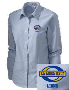 La Mesa Dale Elementary School Lions Embroidered Women's Classic Oxford