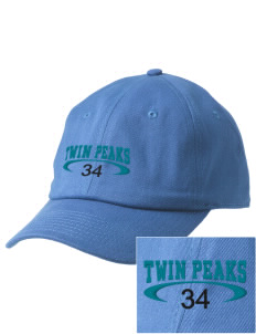 Twin Peaks Middle School Rams Embroidered Champion 6-Panel Cap