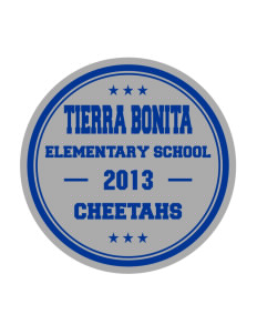 Tierra Bonita Elementary School Cheetahs Sticker