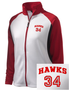 Herbert Hoover Middle School Hawks Embroidered Holloway Women's Reaction Tri-Color Jacket