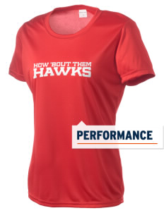 Herbert Hoover Middle School Hawks Women's Competitor Performance T-Shirt
