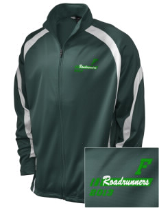 Farmington Elementary School Roadrunners Embroidered Holloway Men's Tricotex Warm Up Jacket
