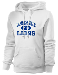 Lammersville Elementary School Lions Russell Women's Pro Cotton Fleece Hooded Sweatshirt