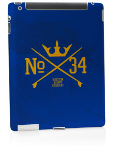 Houston Elementary School Chargers Apple iPad 2 Skin