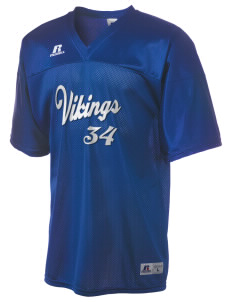 Victor Elementary School Vikings  Russell Men's Replica Football Jersey