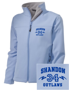 Shandon Senior High School Outlaws Embroidered Women's Soft Shell Jacket