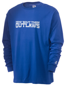 Shandon Senior High School Outlaws  Russell Men's Long Sleeve T-Shirt