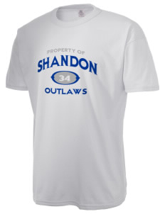 Shandon Senior High School Outlaws  Russell Men's NuBlend T-Shirt