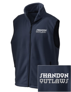 Shandon Senior High School Outlaws Embroidered Unisex Wintercept Fleece Vest