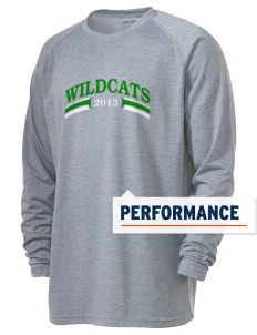 Washington Elementary School Wildcats Men's Ultimate Performance Long Sleeve T-Shirt