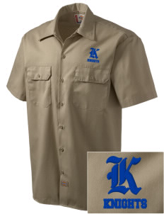 Arundel Elementary School Knights Embroidered Dickies Men's Short-Sleeve Workshirt