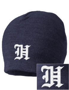 Hillside Elementary School Hawks Embroidered Beanie