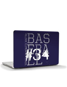 "Hillside Elementary School Hawks Apple Macbook Pro 17"" (2008 Model) Skin"