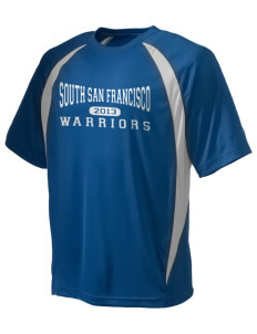 South San Francisco High School Warriors Champion Men's Double Dry Elevation T-Shirt