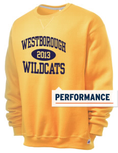 Westborough Middle School Wildcats  Russell Men's Dri-Power Crewneck Sweatshirt