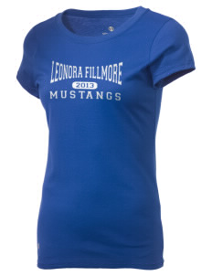 Leonora Fillmore Elementary School Mustangs Holloway Women's Groove T-Shirt