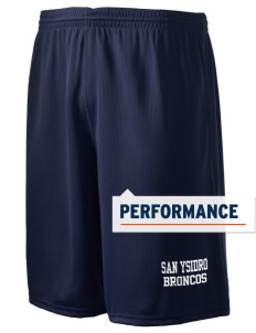 "San Ysidro Elementary School Broncos Holloway Men's Speed Shorts, 9"" Inseam"