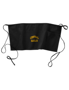 Central Continuation High School Eagles Waist Apron with Pockets