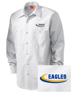 Central Continuation High School Eagles Embroidered Men's Industrial Work Shirt - Regular