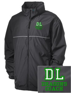 De Laveaga Elementary School Dragons Embroidered Men's Element Jacket