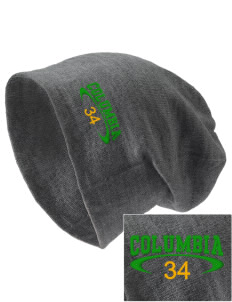 Columbia Elementary School Lions Embroidered Slouch Beanie